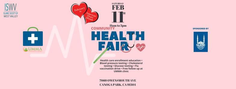 ISWV: Community Health Fair