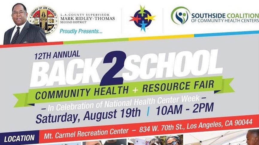 6th Annual Walk 4 Health & Back 2 School Resource Fair