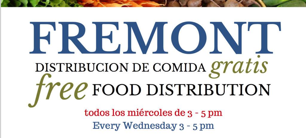 Fremont = Free Food/¡Comida Gratis!
