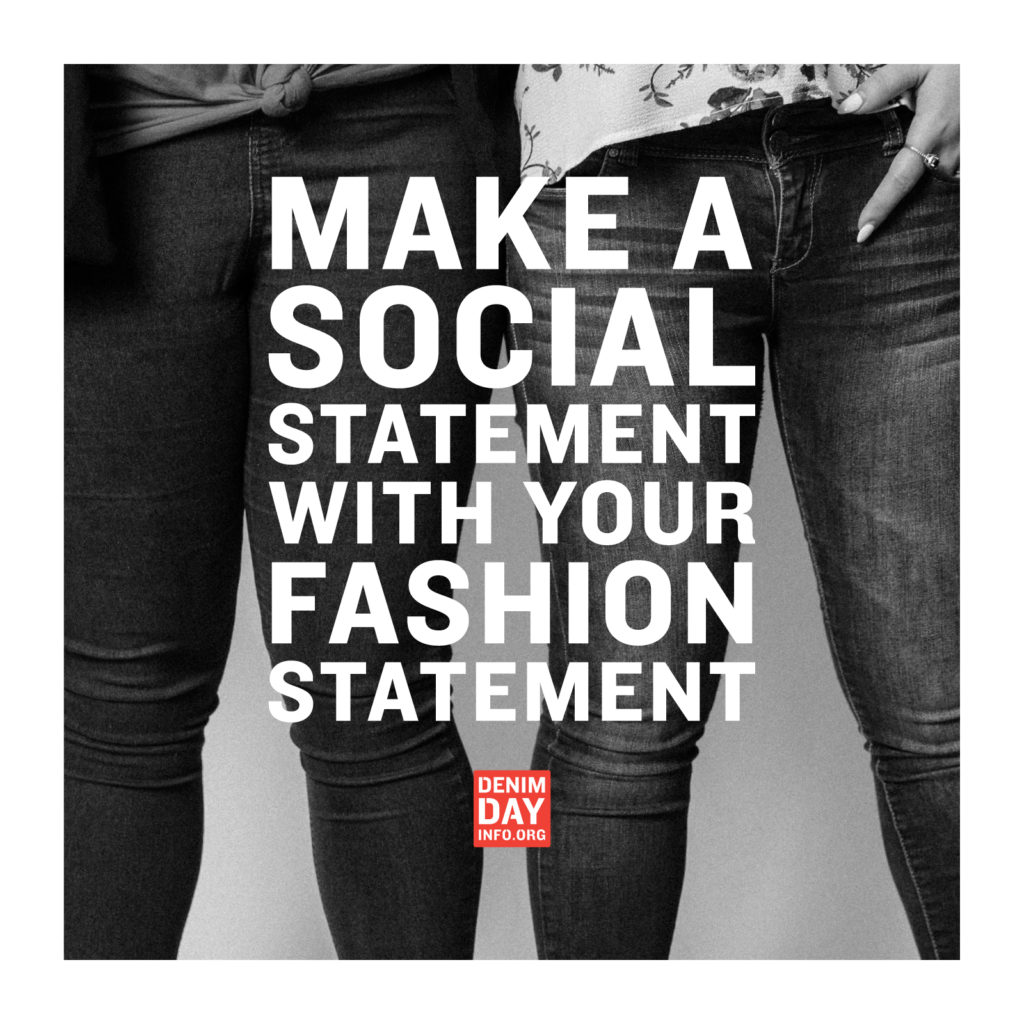 Make A Social Statement With Your Fashion Statement